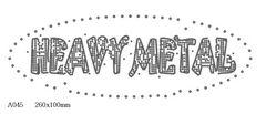футболка с рисунком Heavy Metal