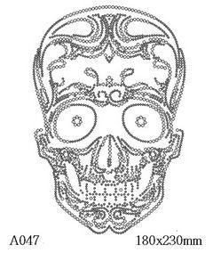 футболка с рисунком Череп