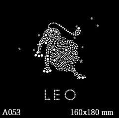 футболка с рисунком Знак зодиака «Лев»