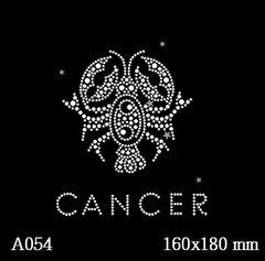 футболка с рисунком Знак зодиака «Рак»