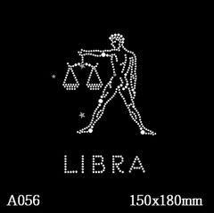 футболка с рисунком Знак зодиака «Весы»