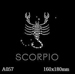 футболка с изображением Знак зодиака «Скорпион»