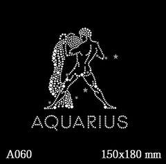 футболка с изображением Знак зодиака «Водолей»