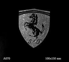 футболка с рисунком Логотип «Феррари»