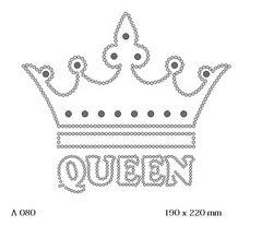футболка с рисунком Queen с короной