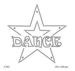 футболка с изображением Звезда Dance