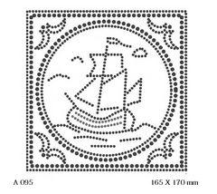 футболка с рисунком Корабль в рамке