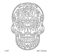 футболка с изображением Латиноамериканский череп