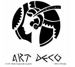 футболка с рисунком Девушка Art Deco