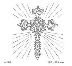 футболка с рисунком Крест