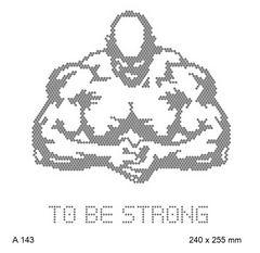 футболка с рисунком Мускулистый качок to be strong