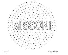 футболка с изображением Missoni