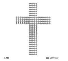 футболка с рисунком Простой крест (религиозная тематика)