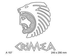 футболка с рисунком Crimea и голова с животным