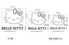 футболка с рисунком Hello Kitty разного размера